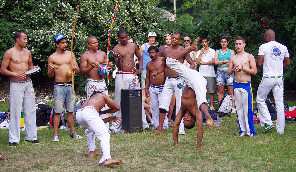 Capoeira_Uniendo Raices